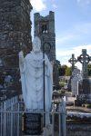 StPatric statue - Slane Abbey