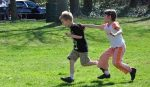 Kids Playing Tag